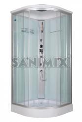 Sanimix Alíz Hydro 90x90x215 cm íves (22.1032)