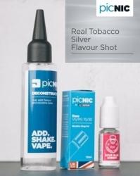 Jac Vapour Pachet DiY 60ml Lichid Tigara Electronica Premium Jac Vapour Real Tobacco Silver, Nicotina 3mg/ml, 80%VG 20%PG, Fabricat in UK