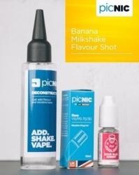 Jac Vapour Pachet Lichid DiY Tigara Electronica Premium Jac Vapour Banana Milkshake 60ml, Nicotina 3mg/ml, 80%VG 20%PG, Fabricat in UK