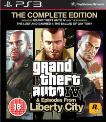 Rockstar Games Grand Theft Auto IV Episodes from Liberty City [The Complete Edition] (PS3)
