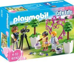 Playmobil Copii Cu Flori Si Fotograf (9230)