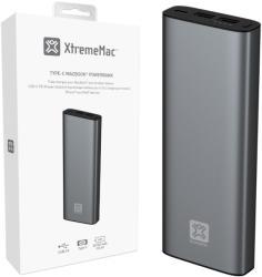 XtremeMac Външна батерия XtremeMac MACBOOK POWER BANK 20100mAh - USB-C / USB-A - Space Grey (IPU-PBM-13)
