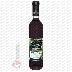 Kontyos Pincészet Kontyos Feketeribizli bor /Édes/ [0, 5L] (Min. 6db)