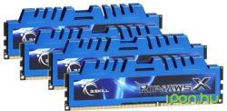 G.SKILL RipjawsX 16GB (4x4GB) DDR3 2400MHz F3-2400C11Q-16GXM