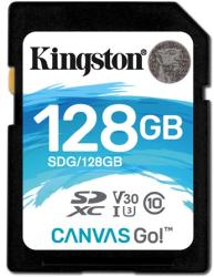 Kingston SDXC Canvas Go! 128GB C10/U3/V30 SDG/128GB