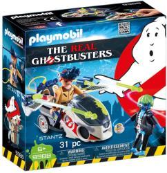 Playmobil Ghostbuster Stantz Si Motocicleta (9388)