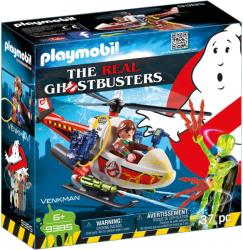 Playmobil Ghostbuster Venkman Si Elicopter (9385)
