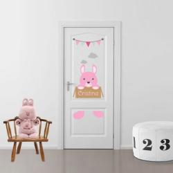 BeKid Sticker decorativ usa Bunny - 96 x 55 cm