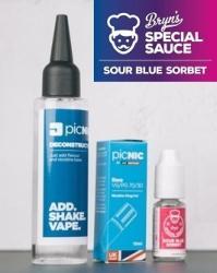 Jac Vapour Pachet DiY 60ml Lichid Tigara Premium Jac Vapour Bryn's Special Sauce Sour Blue Sorbet, Nicotina 3mg/ml, 80%VG 20%PG