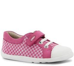Bobux Rózsaszín mintás fehér orrú cipő - 25 (2-3 éves)