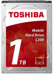 Toshiba L200 2.5 1TB 5400rpm 128MB SATA3 HDWL110EZSTA