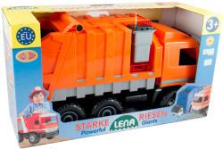 LENA Óriás Mercedes kukásautó narancssárga 74cm (02026)