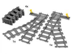 LEGO City - Vasúti kézi váltók 7895