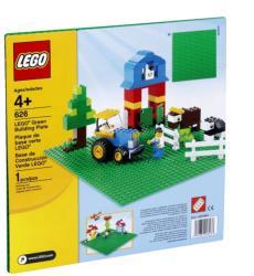 LEGO Zöld építőlap (626)