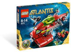 LEGO Atlantis - Neptun hordozó (8075)