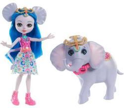 Mattel Enchantimals - Ekaterina Elephant és Antic