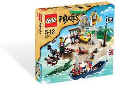 LEGO Pirates - Zsákmány sziget (6241)