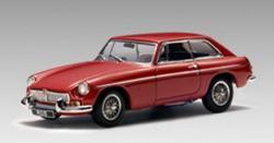 AUTOart MGB GT Coupe MK II 1:43 - több színben