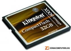 Kingston CompactFlash Ultimate 32GB 600x (CF/32GB-U3)