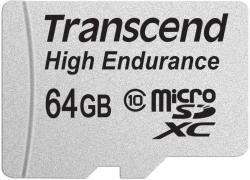 Transcend microSDXC High Endurance 64GB Class 10 TS64GUSDXC10V
