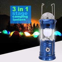 Къмпинг фенер 3 в 1 с диско ефект sh-5801 (sh-5801)