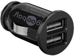 Goobay USB-s szivargyújtó adapter 2xUSB 3, 1A (58912)