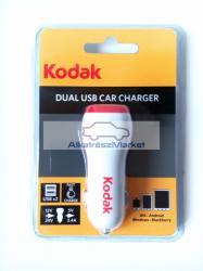 Kodak szivargyújtó USB töltő, átalakító