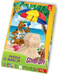 Trefl Scooby Doo a tengerparton - Maxi 24 db-os (14115)
