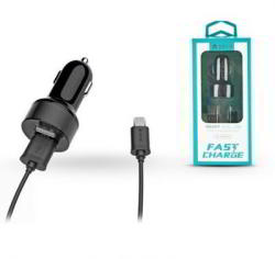 devia Smart Dual Fast Charge USB 2.4A + microUSB Cable (ST301209)
