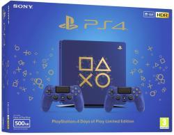 Sony PlayStation 4 Slim 500GB (PS4 Slim 500GB) Days Of Play Blue Limited Edition