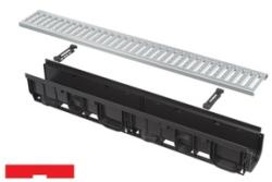 Alcaplast Rigola exterioara de 1000 mm cu rama din plastic integrata (ACP-AVZ102-R102)