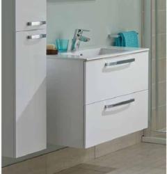 Ideal Standard Set mobilier baie alb cu dulap baza si lavoar Tempo 60 cm (IDS-E3240WG+E066801)