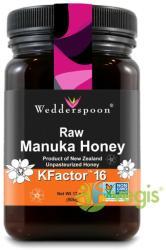 Wedderspoon Miere De Manuka KFactor 16 RAW 100% Naturala 500g