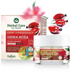 FARMONA Herbal Care Crema Rejuvenanta de Fata Antirid pentru Ten Matur Zi/Noapte cu Trandafir Salbatic 50ml