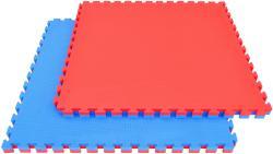 Capetan Capetan® Floor Line 100x100x2, 5cm piros / kék puzzle tatami szőnyeg 100kg/m3 magas anyagsűrűségű kiv