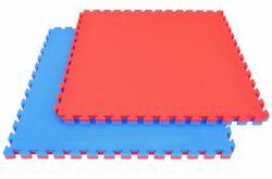 Zonex Tatami szőnyeg 100*100*2 kék/piros színben - puzzle tatami