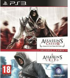 Ubisoft Double Pack: Assassin's Creed + Assassin's Creed II (PS3)