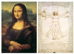 Educa Da Vinci: Mona Lisa és az emberi test 2x1000 db-os (13297)