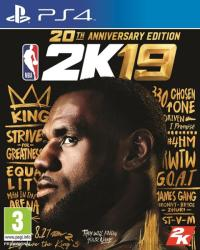2K Games NBA 2K19 [20th Anniversary Edition] (PS4)