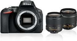 Nikon D5600 + 18-55mm VR + 35mm DX Digitális fényképezőgép