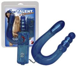Sex Talent Vibrating Dong - Szextalentum duplavibrátor