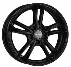 Mak Emblema Gloss Black CB72 5/108 17x7 ET50