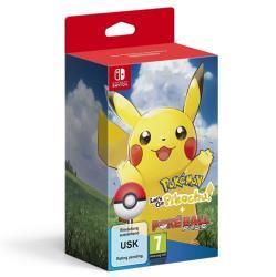 Nintendo Pokémon Let's Go Pikachu! + Poké Ball Plus (Switch)