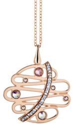 Boccadamo Jewels - bronz nyaklánc-Melodia-rózsaarany - ragyogj - 17...