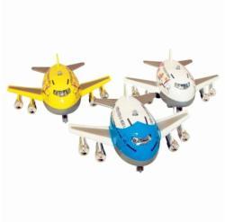 Jumbo repülő fénnyel és hanggal 8cm - többféle