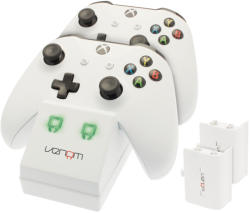 Venom Xbox One Twin Docking Station White (VS2859)