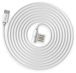 REMAX Cablu Remax Rayen Micro USB RC-075 Alb 1m (IRCABRAYMALB)