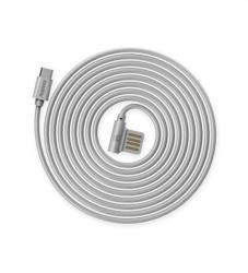 REMAX Cablu Remax Rayen Micro USB RC-075 Argintiu 1m (IRCABRAYMARG)