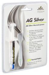 AG Termopasty Pasta termoconductoare pe baza de argint AG Silver 3.8 W/m. K. 3gr AG TermoPasty (AGT-107)