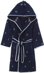 19 990 Ft Soft Cotton MARINE BOY gyerek kapucnis fürdőköpeny  ajándékcsomagolásban 6 évesre (116 cm) Sötét kék 6131899894